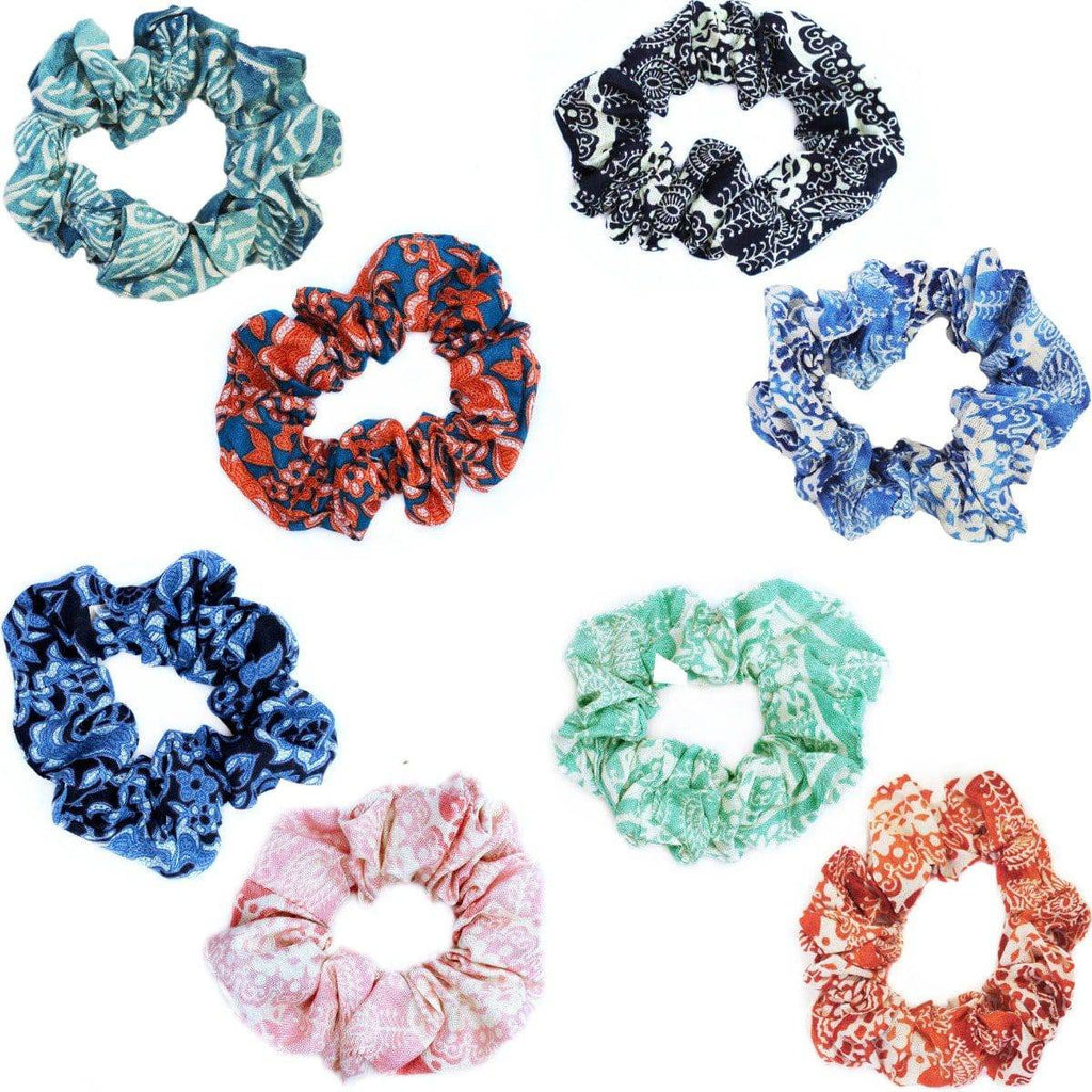 MIXED COLOR SCRUNCHIES - [jayden_p]