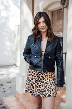 Rockstar Faux Fur Leather Moto Jacket - [jayden_p]