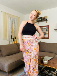 DIY Wrap Skirt - EASY!