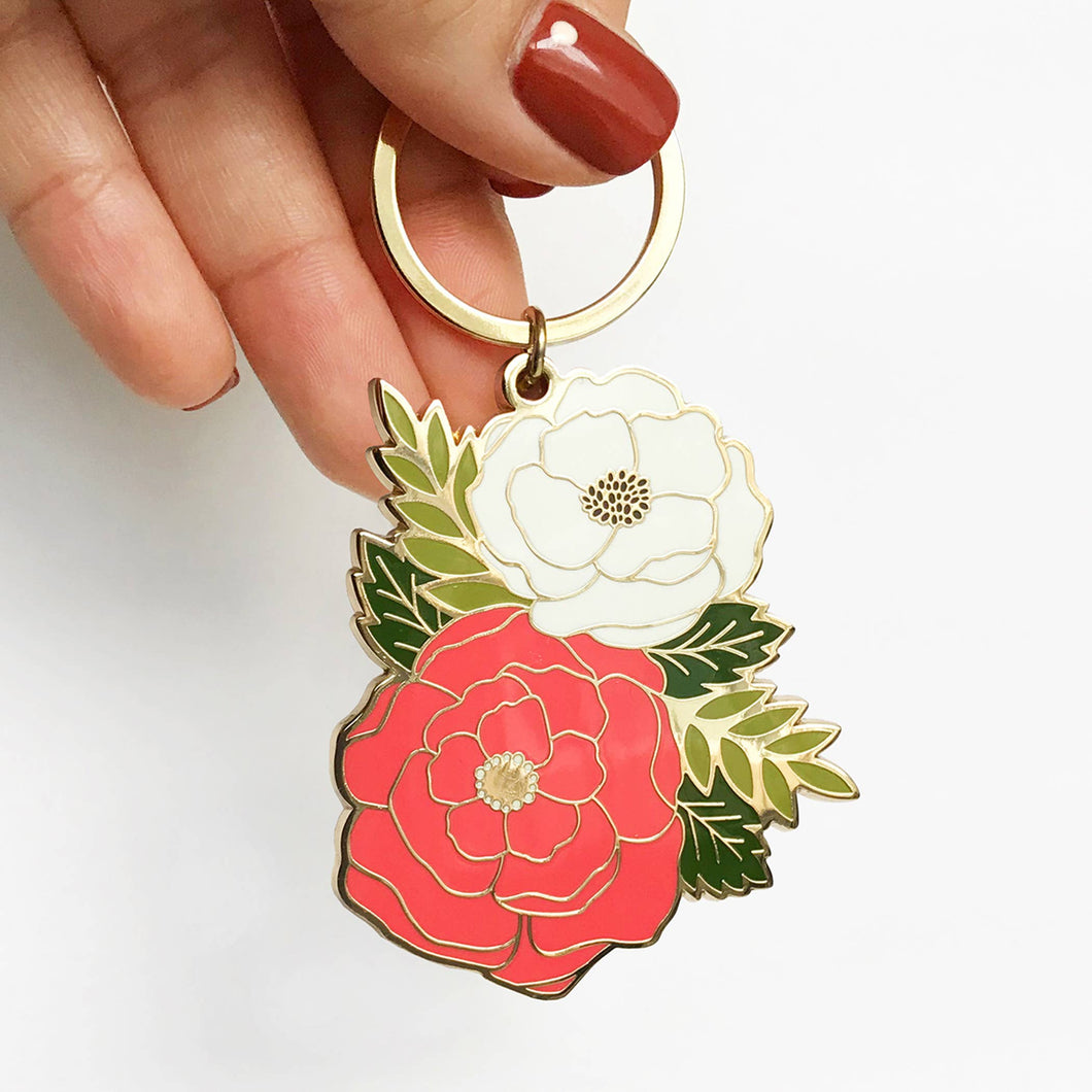 Bouquet Key Chain