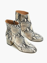 Celina Ankle Boot in Snakeskin