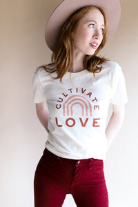 Cultivate Love T Shirt