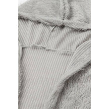 Soft & Cozy Grey Open Cardigan