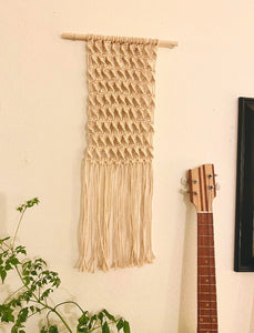 Twisted Macrame Wall Hanging