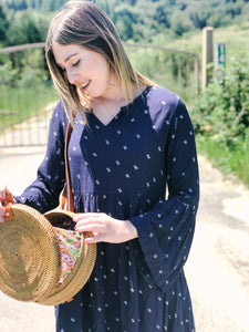 Baby Cacti Bell Sleeve Dress