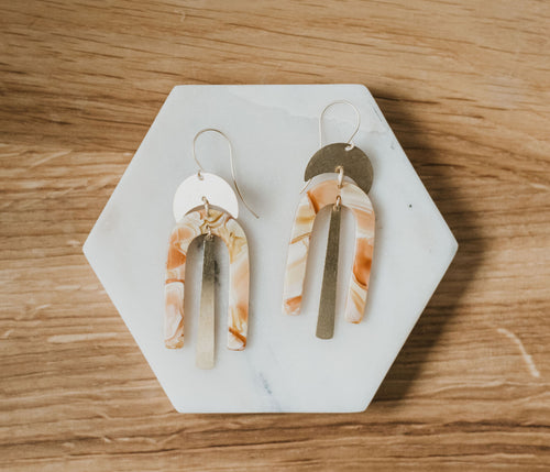 Serene Sorbet Earrings