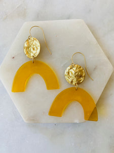 Sunny Arch Earrings