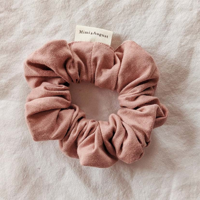 Pale Rose Hair Scrunchie
