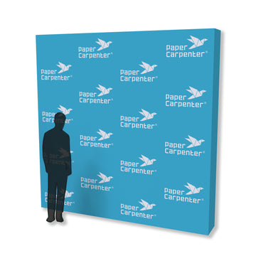 10ft x 10ft PVC Backdrop with PaperConnect Structure (Reusable)