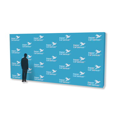 10ft x 20ft PVC Backdrop with PaperConnect Structure