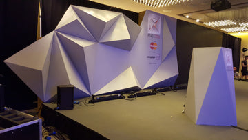 Faceted Backdrop