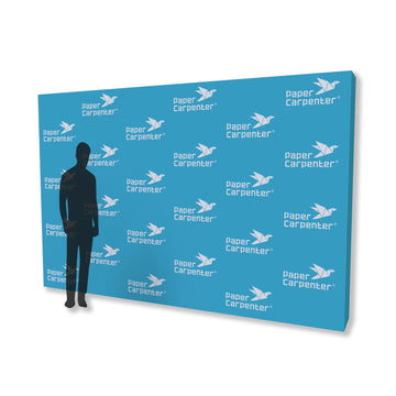 8ft x 12ft PVC Backdrop with PaperConnect Structure
