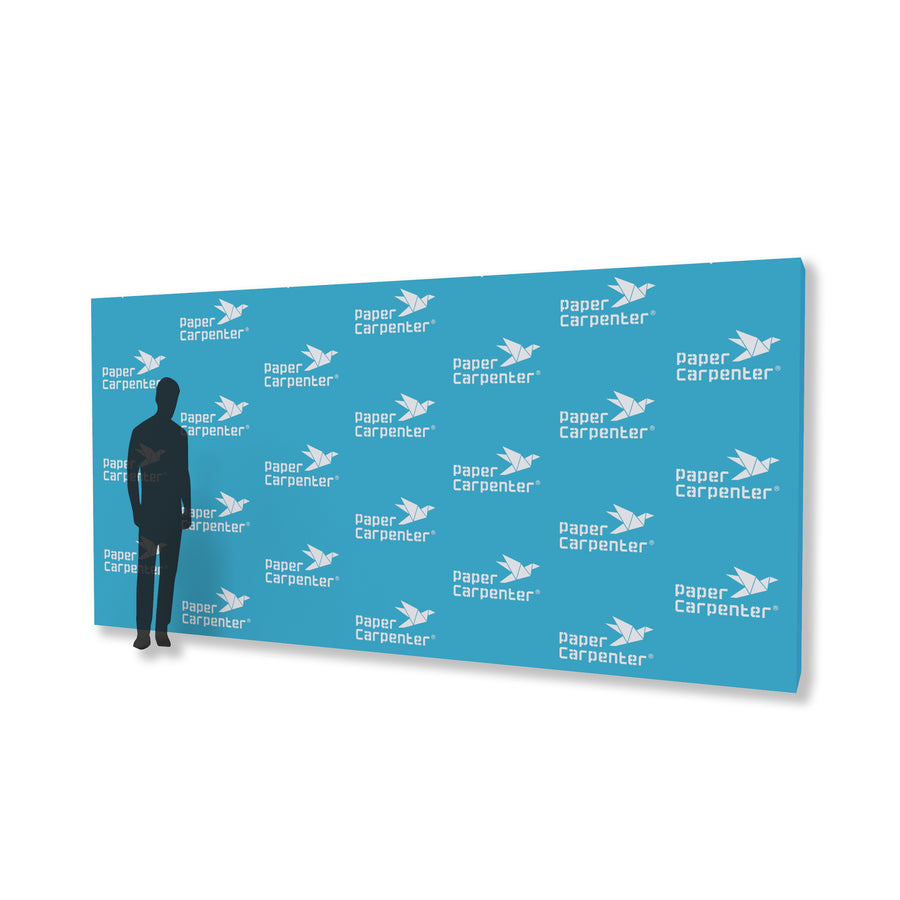 8ft x 16ft PVC Backdrop with PaperConnect Structure