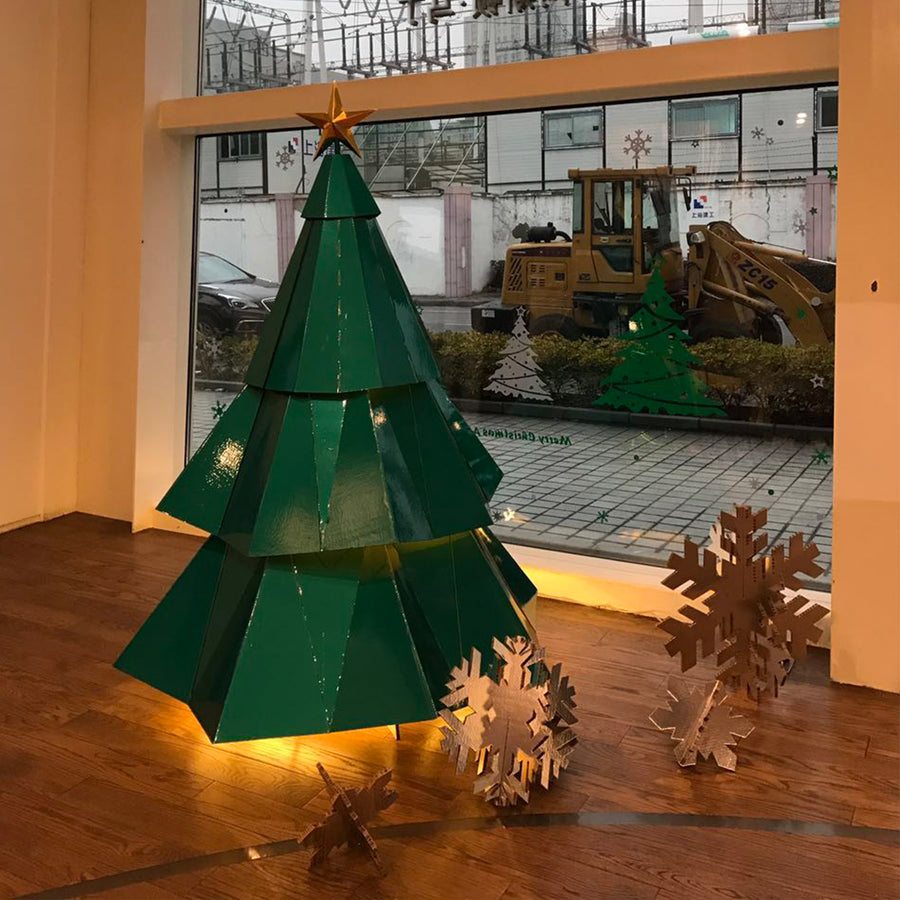 Facet Christmas Tree
