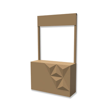 Faceted Stall