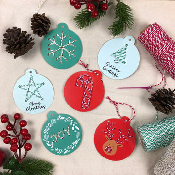 Embroidered Ornament Craft