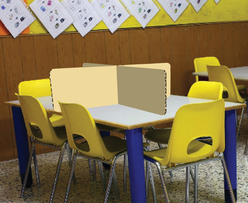 BLOCKA Pre-School Table Divider (Kid's height)