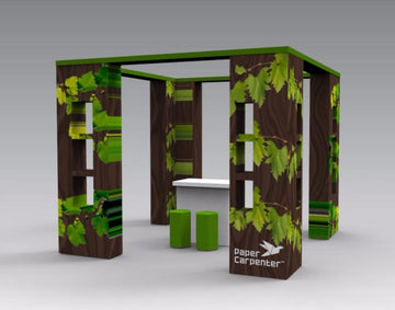 Cardboard Pop-up Booth