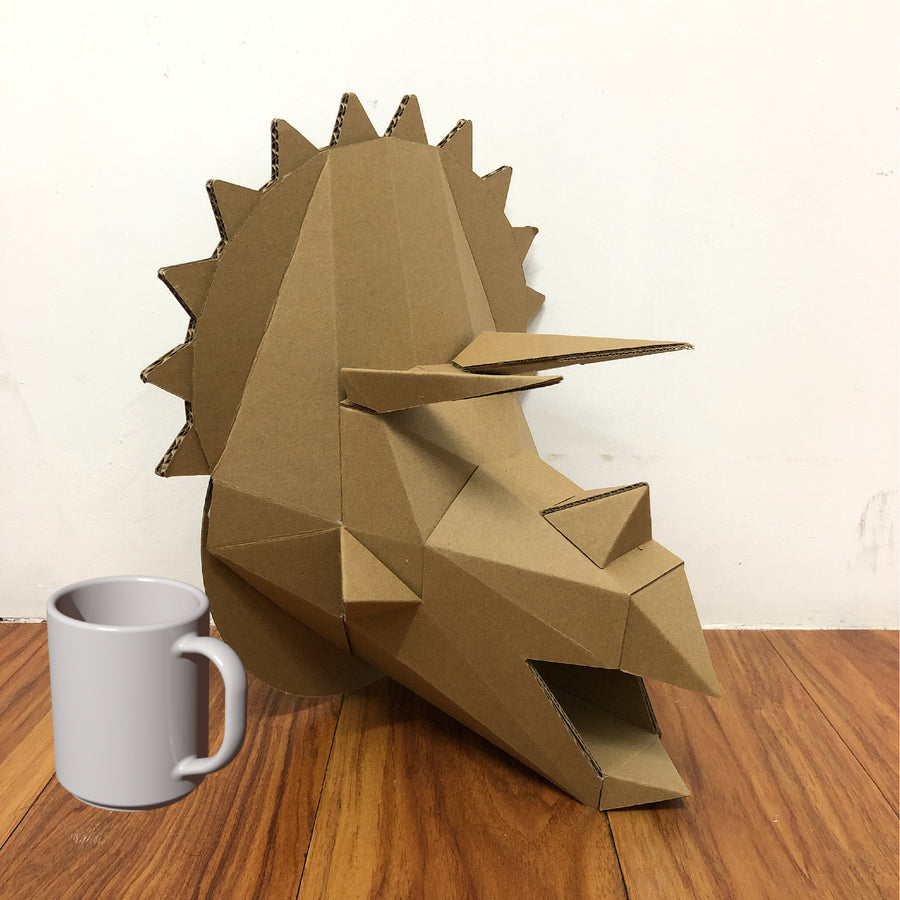 Triceratops Wall Mount