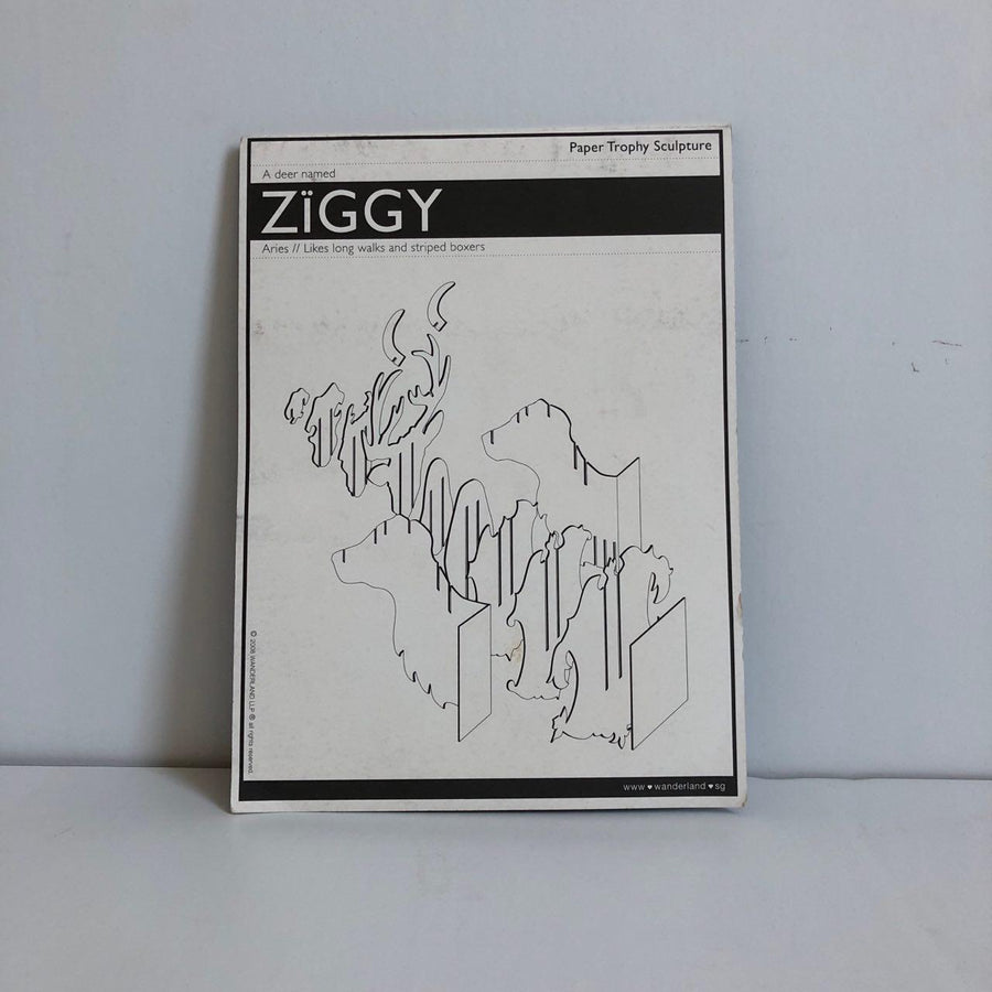ZIGGY Paper Trophy Sculpture