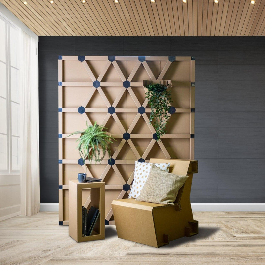 Geometric Feature Wall