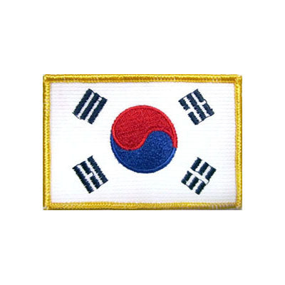 Korean Flag Patch (No Letters)