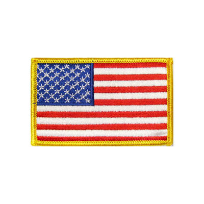 USA Flag Patch (No Letters)