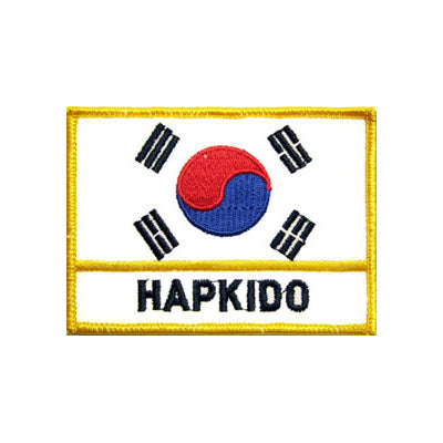 Hapkido Korean Flag Patch