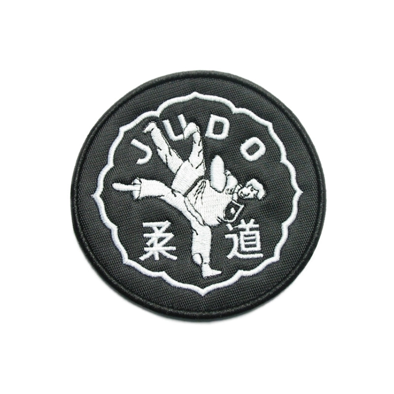 Judo Figure Patch