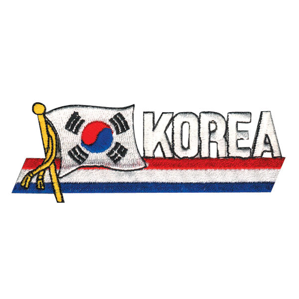 Korean Flag Picture Patch