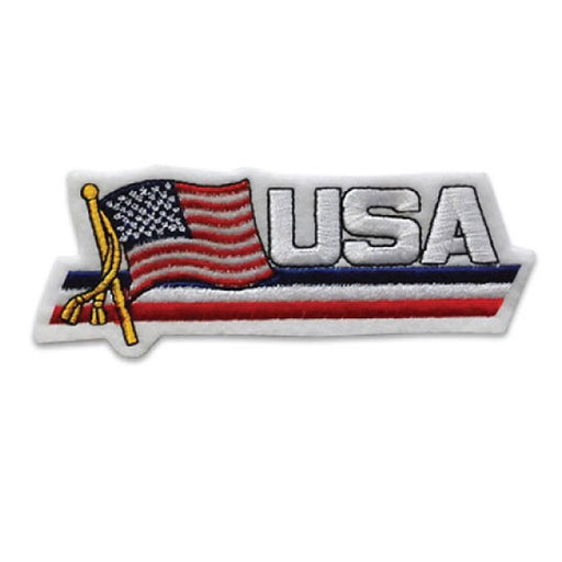 USA Flag Picture Patch
