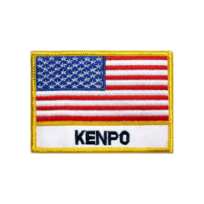 Kenpo USA Flag Patch