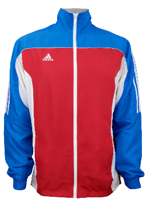 adidas Martial Arts 3-Stripes Light Tracksuit 100% Polyester Long Sleeve Jacket