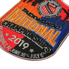 2019 AAU Taekwondo National Championship Embroidered Patch