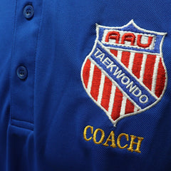 Official AAU Taekwondo Coach Polo