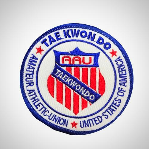 Official AAU Taekwondo Patch