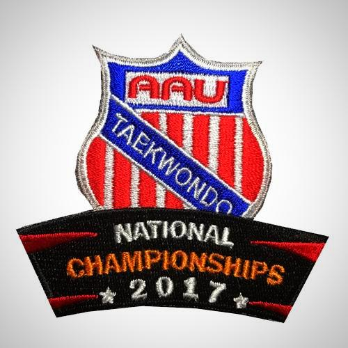 AAU Taekwondo 2017 National Championship Patch