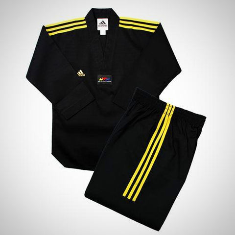 Adidas Champion Color Taekwondo Uniform with Stripes