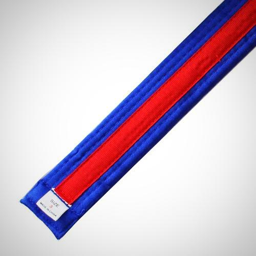 Blue Belt with Red Stripe