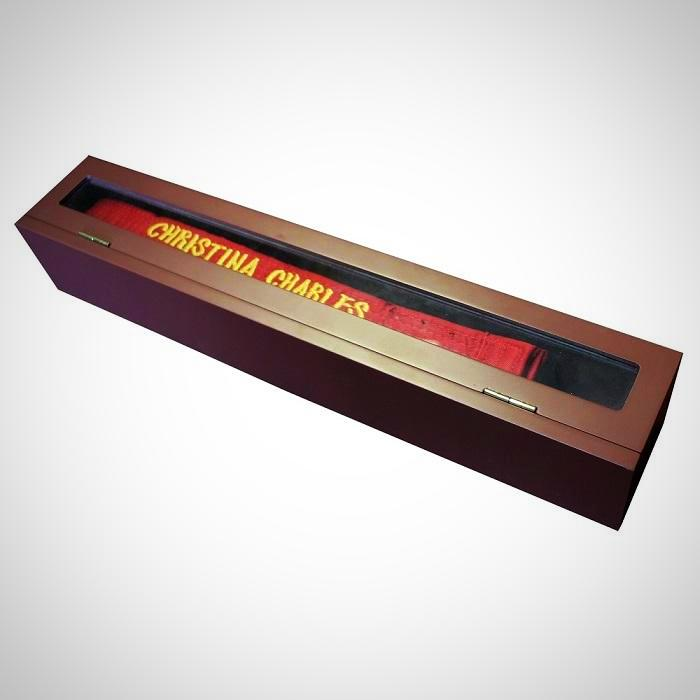 Black Belt Presentation Box