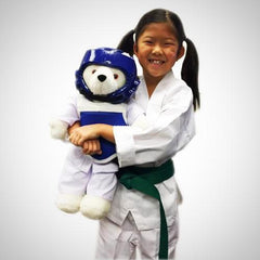 Martial Arts Teddy Bear