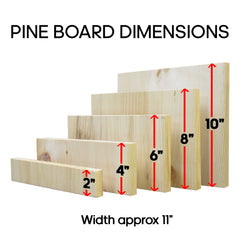 Pine Breaking Board