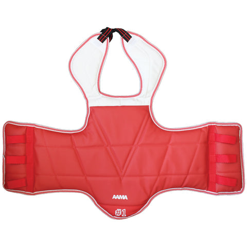 AAMA Solid Reversible Chest Guard
