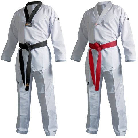 adidas Taekwondo Eco Fighter Uniform Ultralight 100% Polyester WT Approved