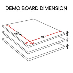 Demonstration Breaking Board