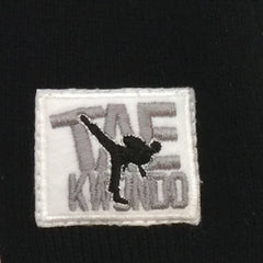 Winter Knit Hat with TAEKWONDO Embroidery