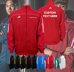 Custom adidas Team Jacket by All American Martial Arts Supply