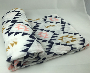 Perfect Life of us  Aztec Print Swaddle