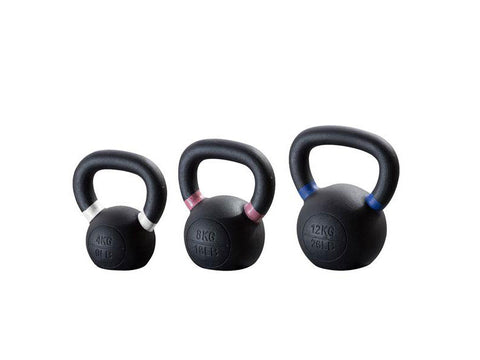 PRE-ORDER – Expected Late October | Classic Cast Iron Kettlebell Beginner Pack (4,8,12)