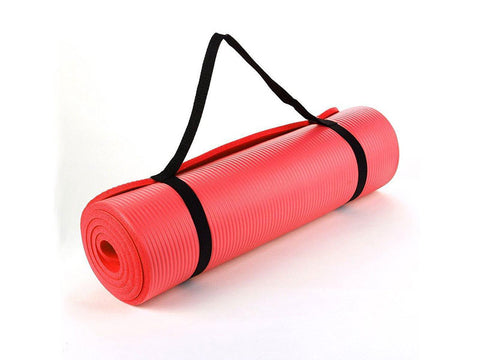 Yoga Mat, 15mm, RED